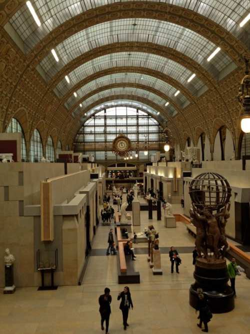 Inside Orsay Museum Paris