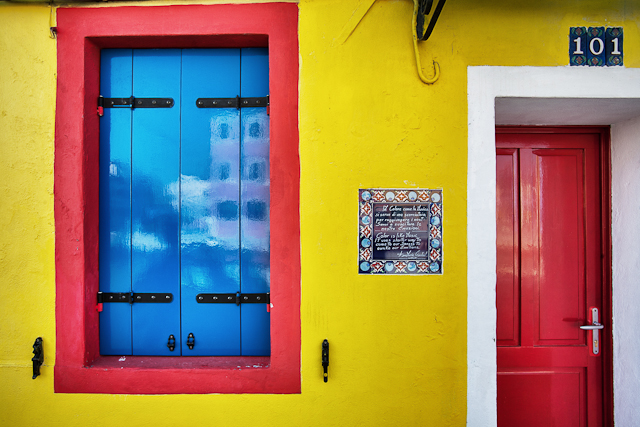 Capture the Colour YELLOW by Misadventures with Andi: Burano, Italy