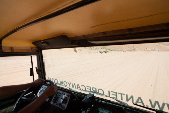 Antelope Canyon Tours Jeep