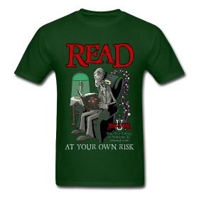 Read At Your Own Risk T-Shirt