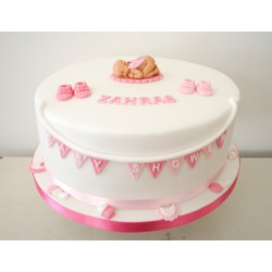 Small Crop Of Girl Baby Shower Cakes