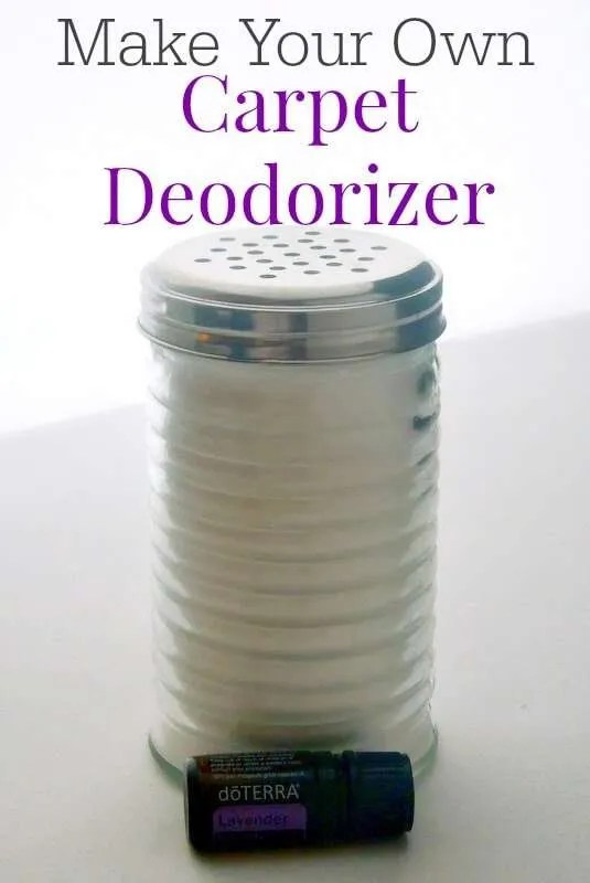 How to make your own carpet deodorizer that works but the smell is not overpowering