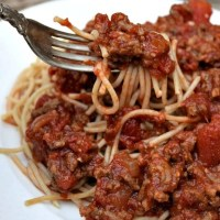 Quick and Easy Homemade Spaghetti Sauce
