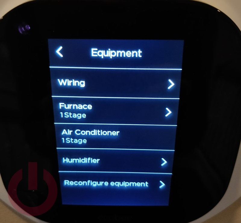 Connect a whole home humidifier to an Ecobee Smart Thermostat