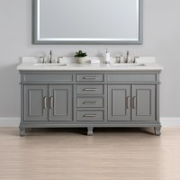 "Charleston 72"" Double Sink Vanity 