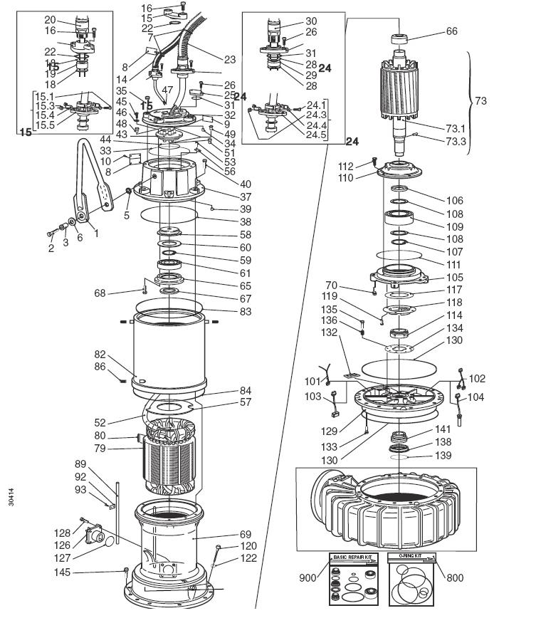 flygt 3153 wiring diagram