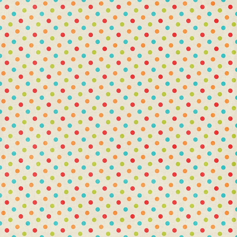 Miss Kate Cuttables Scrapbook Paper - Happy Birthday - Paper Pack - dot paper template