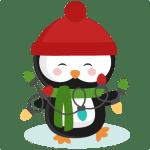 Christmas Lights SVG Cut Files