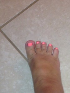 Coral Toes