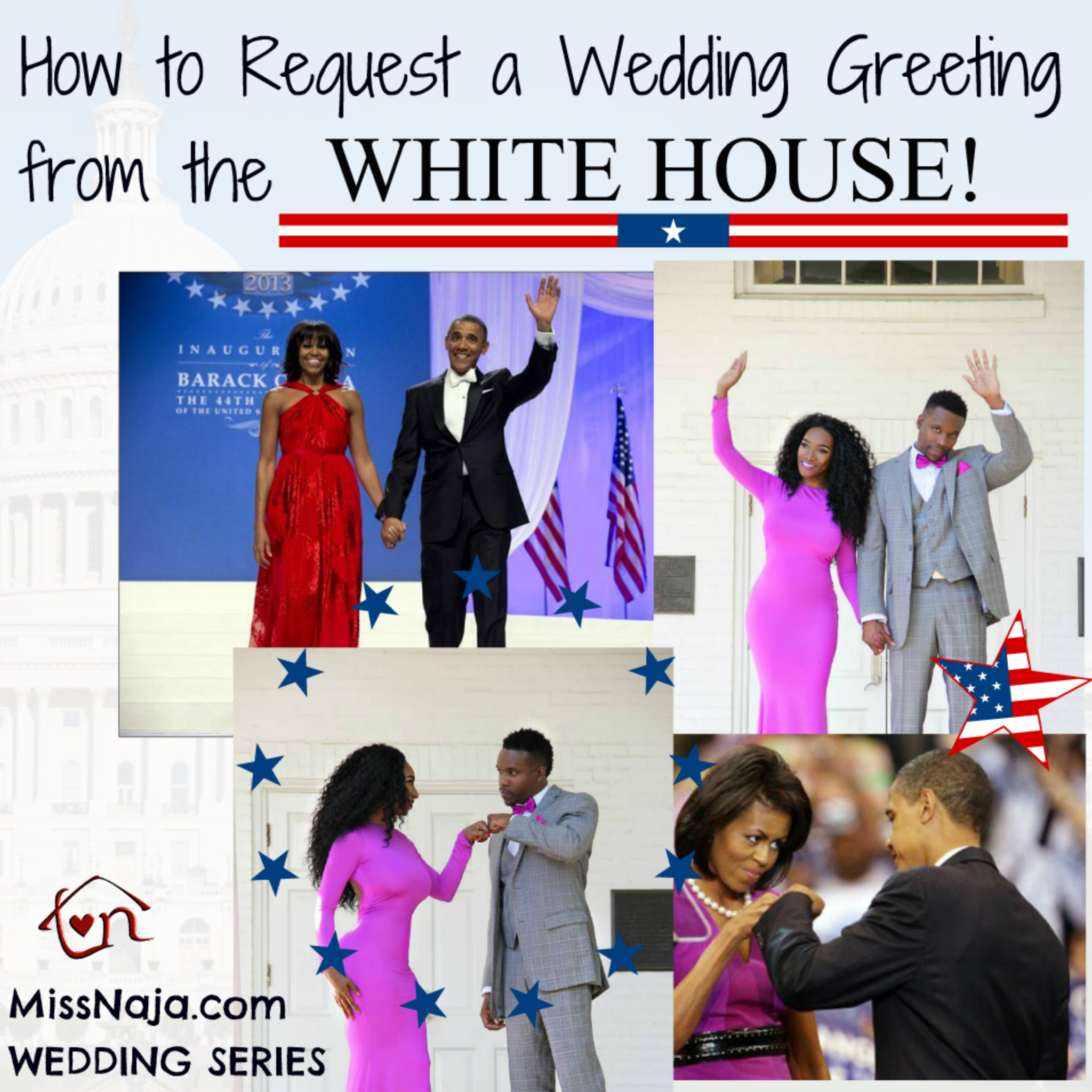 How to get President Obama to send you a WEDDING Greeting!!!!