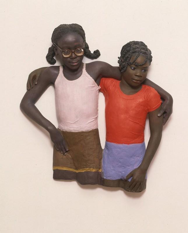 Audrey & Janelle by John Ahearn.