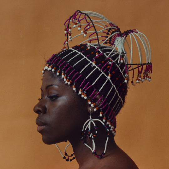 Photo: Untitled (Sikolo with Carolee Prince Designs). 1968, printed 2016Chromogenic print (C-print), matted and framed 11.25 x 11.25 in, 28.575 x 28.575 cm (image)