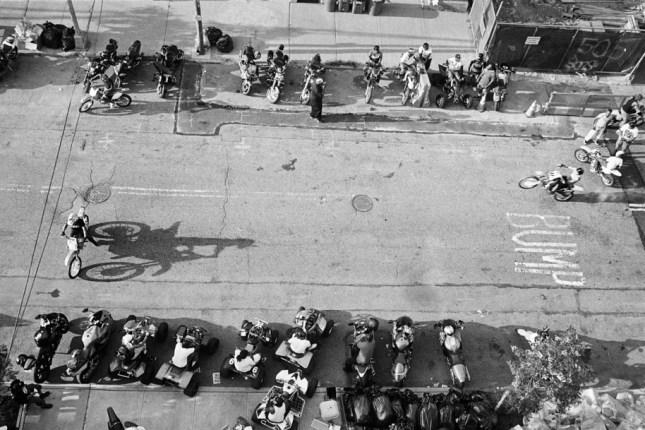 Photo: Imperials MC Bike Blessing. Brooklyn, 2015. ©Cate Dingley.