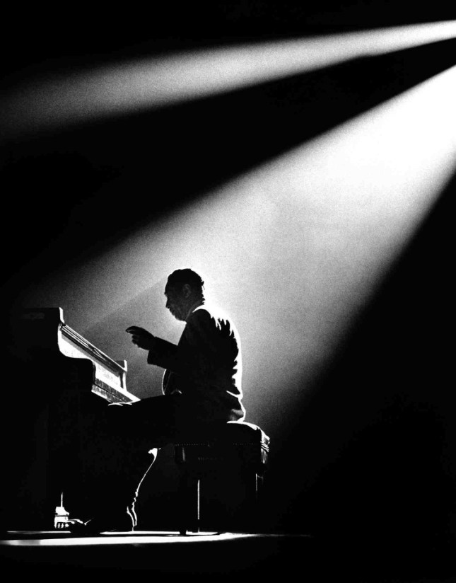 Photo: Duke Ellington by Herman Leonard. Gelatin silver print, 1958.