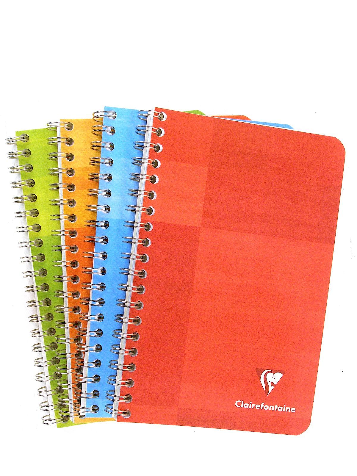 wirebound graph paper notebook