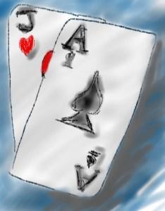 blackjakc hand