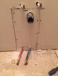 PEX Water Pipes Relocation for New Sink   Mister Plumber