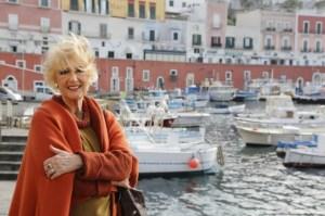 Loretta Goggi in abiti LB - foto Pigi Cipelli 2014