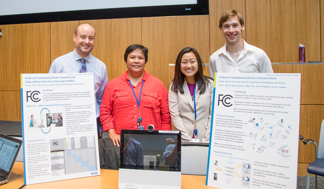 Intern Project Amplifies Benefits for Hard of Hearing Community