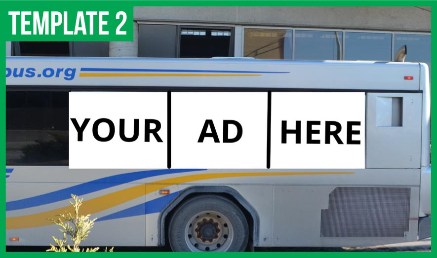 mits exterior ad template 2 Muncie Indiana Transit System
