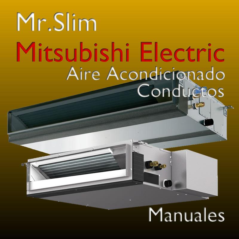 Manual de aire acondicionado conductos mitsubishi electric for Manual aire acondicionado