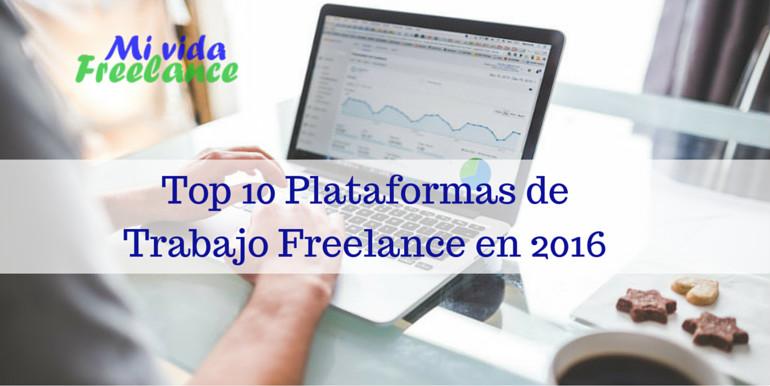 ¿Buscarás trabajo freelance en 2016? Mira este top 10 de plataformas online