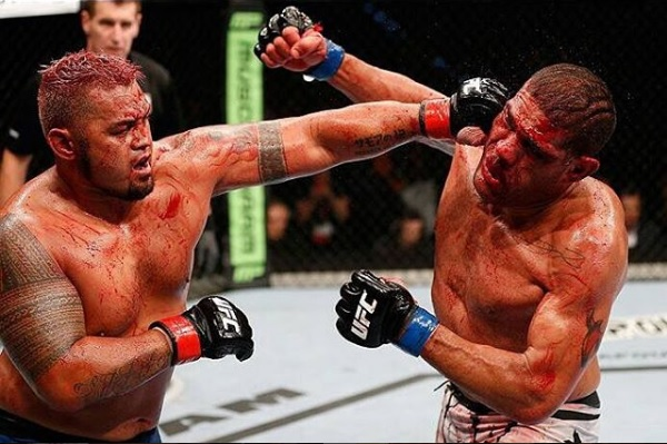 Mark Hunt vs Silva UFC