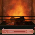 3D Fireplace Screensaver 1.0
