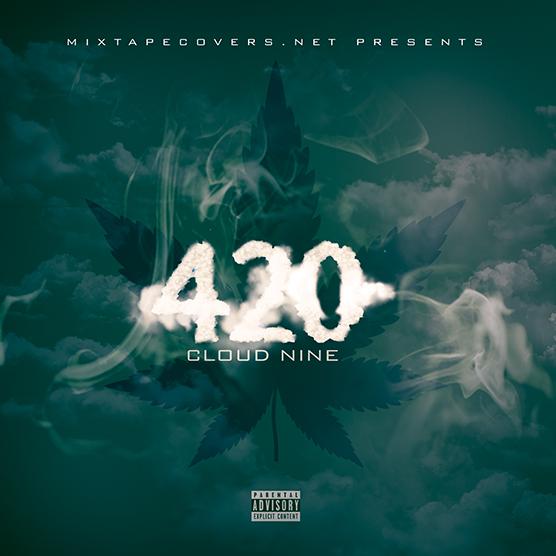 420 Mixtape Cover Template Design MixtapeCoversnet