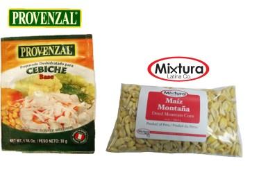Ceviche & Mountain Corn