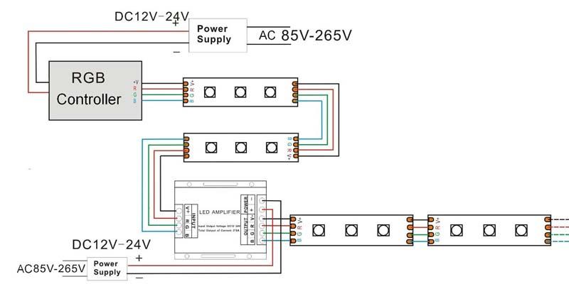 12v led light wiring diagram