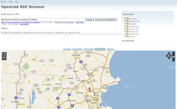 RDF Browser - Map View