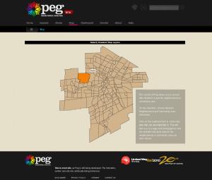 Peg Map Tab