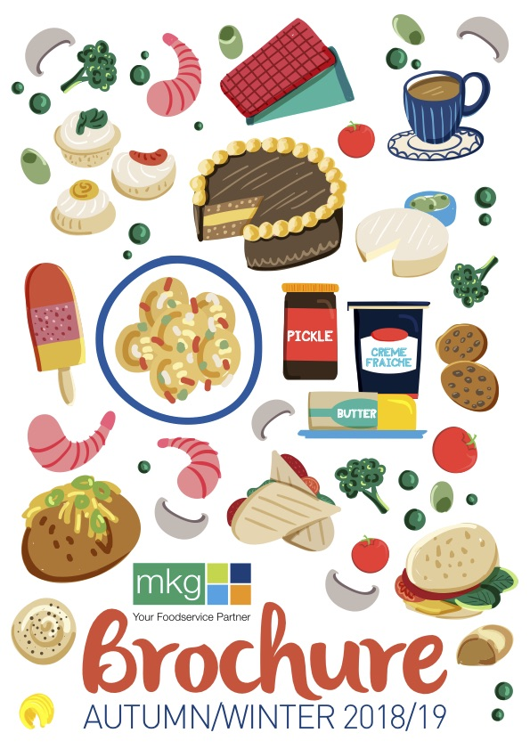 MKG Brochure AW 2018-19 Cover - MKG Foods