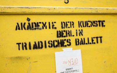 Neue Flightcase's für das Triadische Ballett