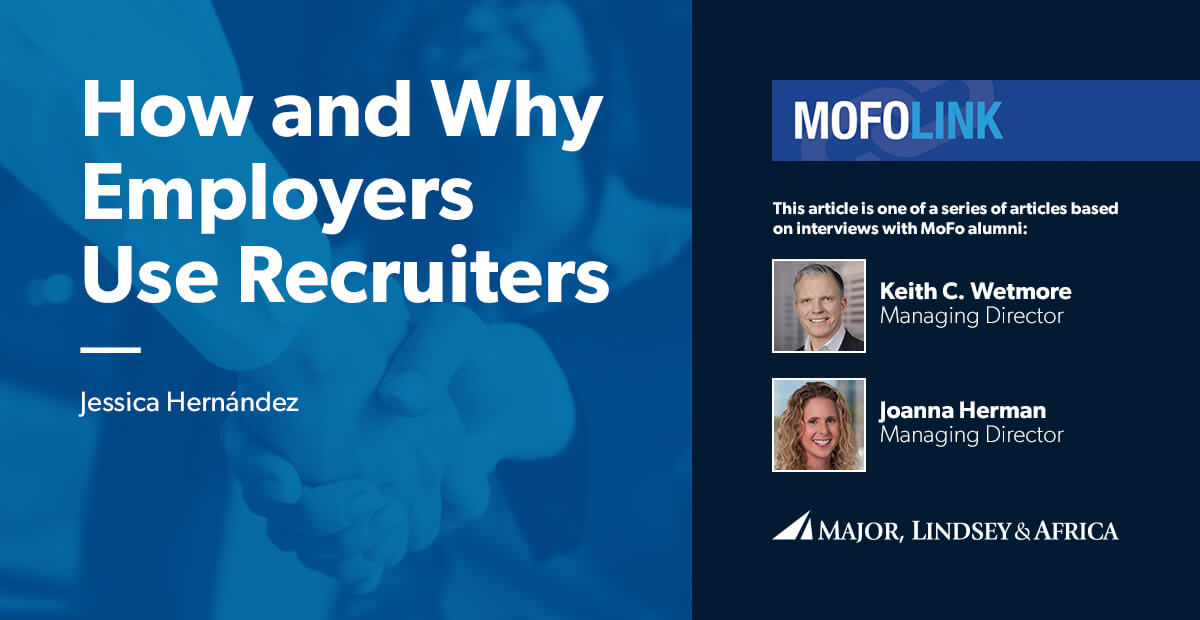 How and Why Employers Use Recruiters