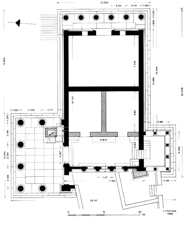 dimensions parthenon in greece - Google Search Ancient Greek - lined chart paper