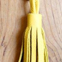 DIY bjou de sac ou porte-clés en cuir. Ça serait le pompon de ne pas le réussir !