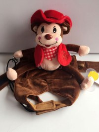 Monkey Riding Dog Clothing Cartoon Cosplay Dog Costumes