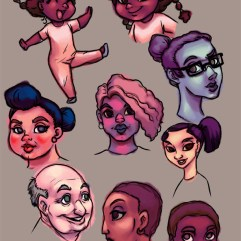 Cartoon Faces 2