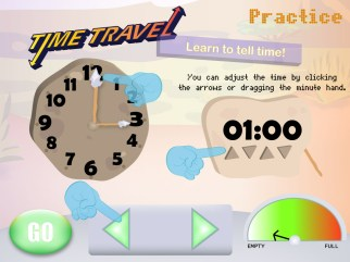 Learn to Tell Time Education Game Tutorial