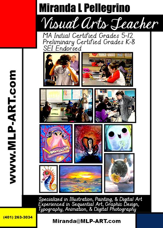 MA Visual Arts Teacher All Grades
