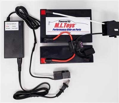 18 Volt Conversion for 12 Volt Power Wheels w/ charger