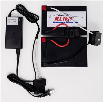 24 Volt Conversion for 12 Volt Power Wheels w/ charger