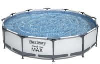 Bestway Steel Pro Frame Pool 366 x 76cm m/filter pumpe Kr ...