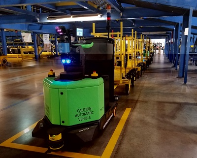 FedEx partners with Vecna Robotics as part of automation growth - material handler fedex