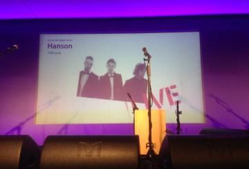 Hanson at Apple Store, London