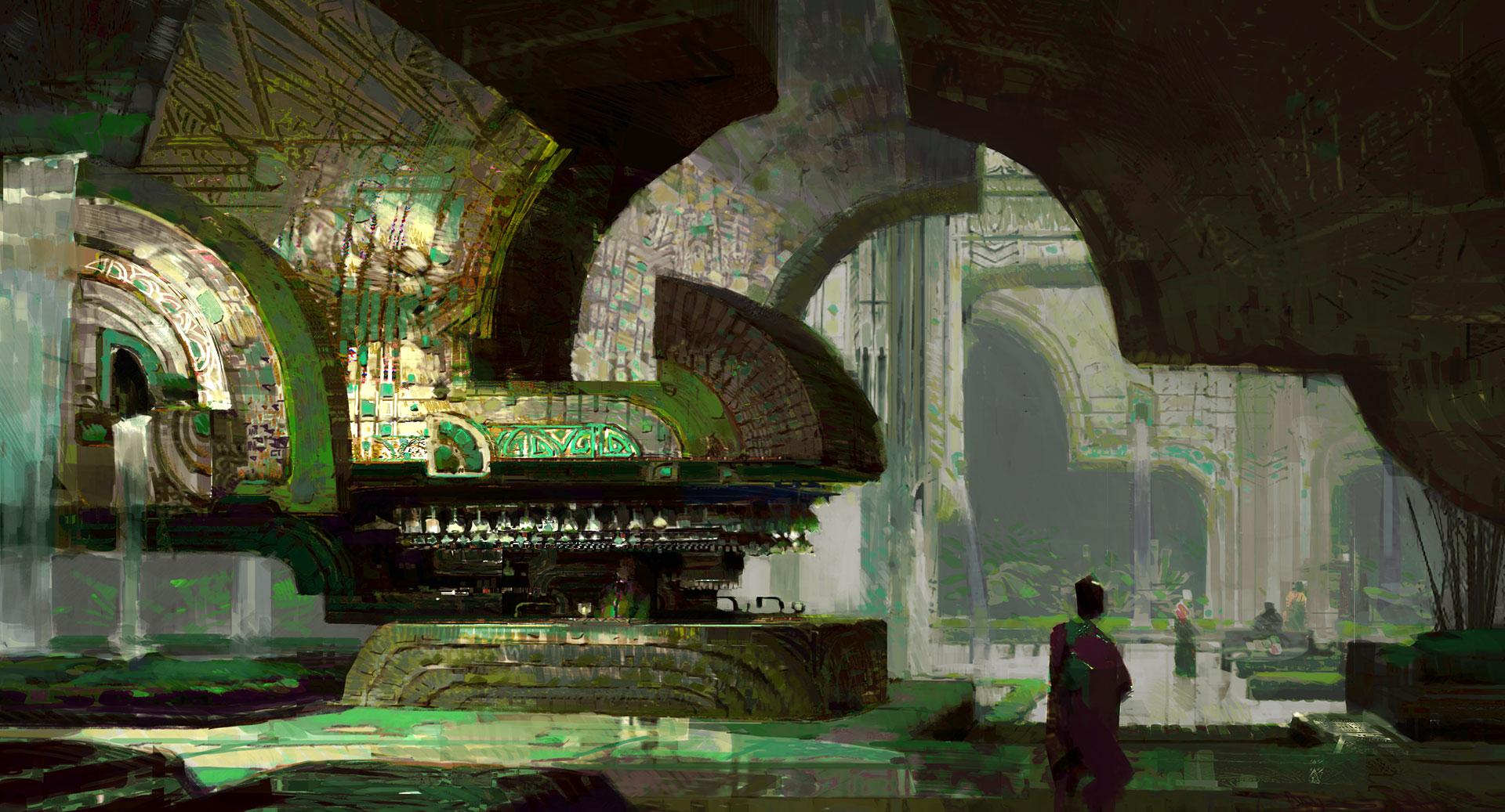 Jungle Wallpaper 3d Guild Wars 2 Unveils Guild Halls Opens Heart Of Thorns