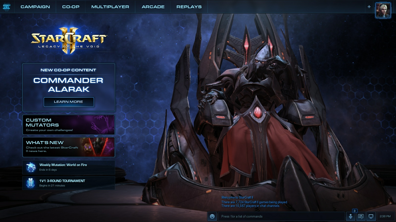 3d Star Wallpaper Alarak And Mist Opportunities Shake Up Starcraft Ii S Co