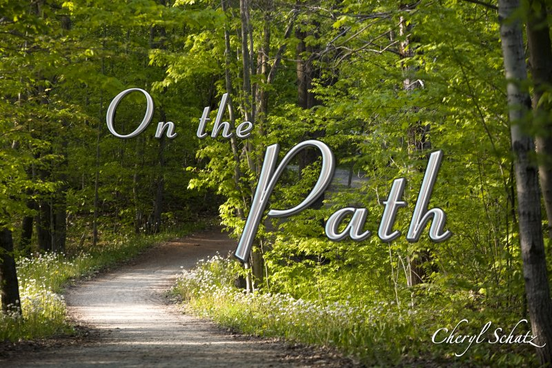 On the Path by Cheryl Schatz on The Giving Blog